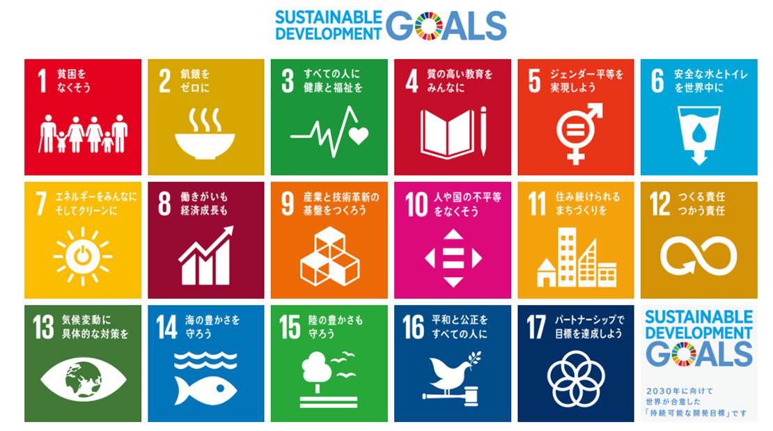 Sustainable Development Goals(持続可能な開発目標)